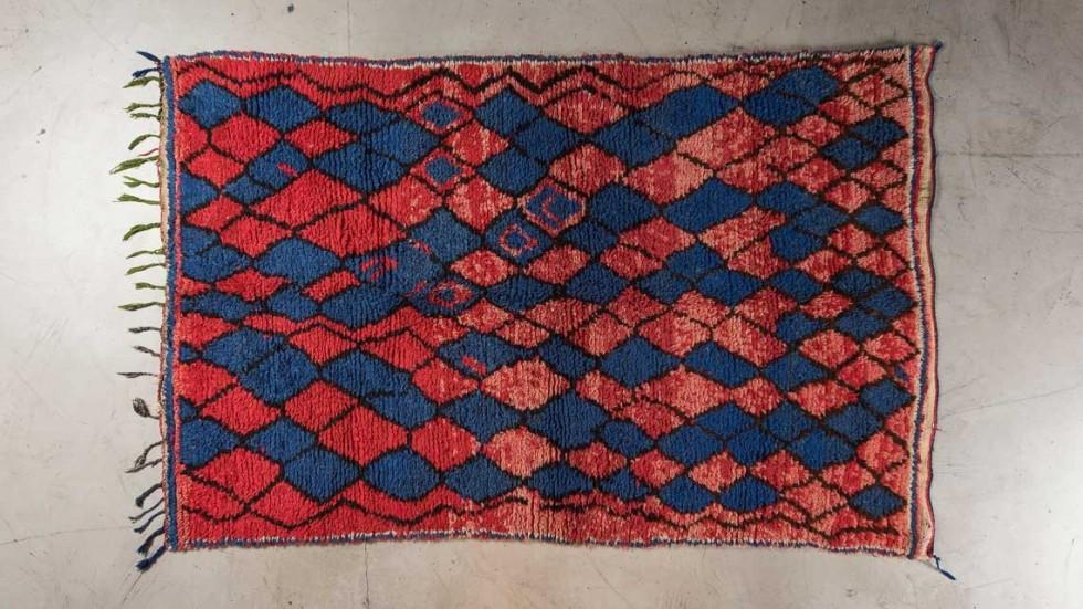TAPIS BERBERE AZILAL 4- 225X140