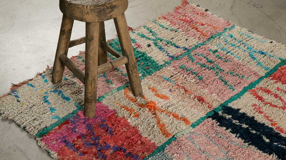 Boucherouite Tapis tapis boucherouite 1 la maison générale