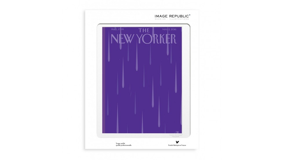 COLLECTION THE NEW YORKER- 56 STAAKE PURPLE RAIN