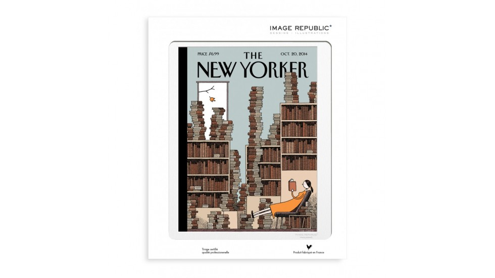 COLLECTION THE NEW YORKER- 66 GAULD FALL LIBRARY 2014