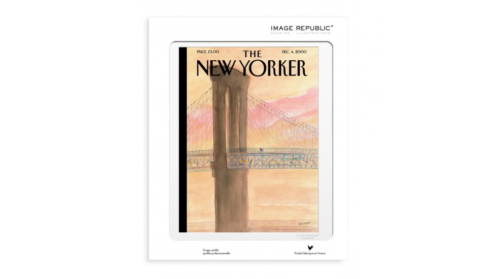 COLLECTION THE NEW YORKER- SEMPE WAY TO BROOKLYN 2000