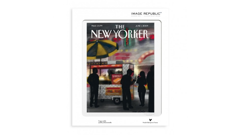 COLLECTION THE NEW YORKER- COLOMBO FINGER PAINTING