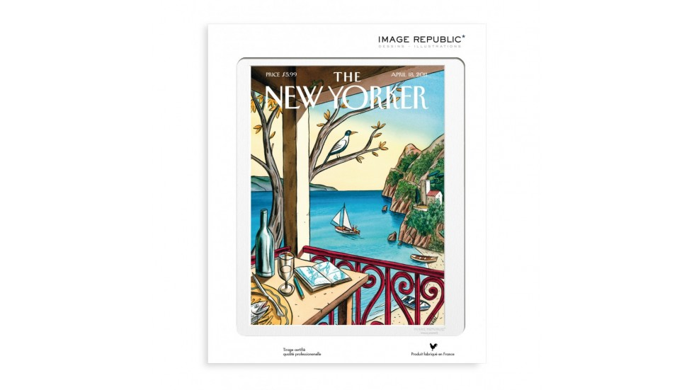 COLLECTION THE NEW YORKER- DE LOUSTAL DRAWING
