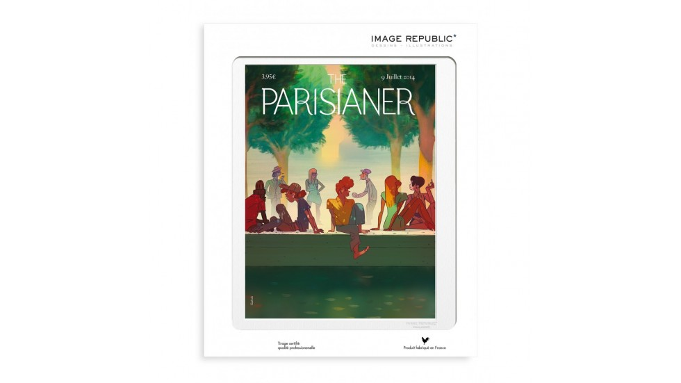 COLLECTION THE PARISIANER -N°52 GAZHOLE