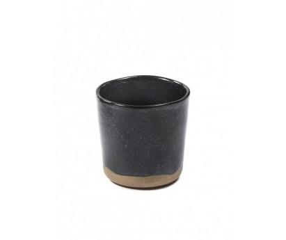 TASSE MERCI N°9  | D7.4cm x 3cm H7cm | BLANC CASSE