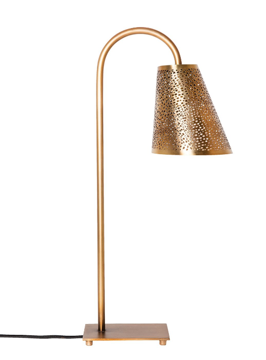 LAMPE ELLA ACIER BRONZE