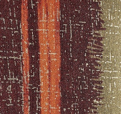 COUSSIN EN LIN TANGO - BRIQUE - 40x55cm