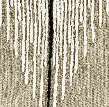 coussin élitis Joséphine en lin, BEIGE, 40x55 cm