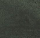 Coussin Vice Versa-biais noir-velours chenille- AVOCAT