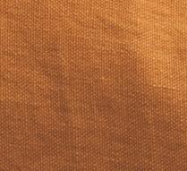 Coussin Vice Versa-biais noir-velours chenille- ambre