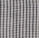 Coussin coton tissé main Bajna - rayures