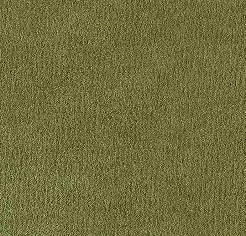 COUSSIN EN VELOURS ARISTOTE - finition sergé brodé contrasté - Lichen - 40x55CM
