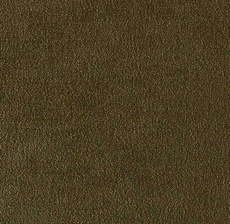 Coussin Aristote velours - finition sergé brodé contrasté- Army- 40x55cm