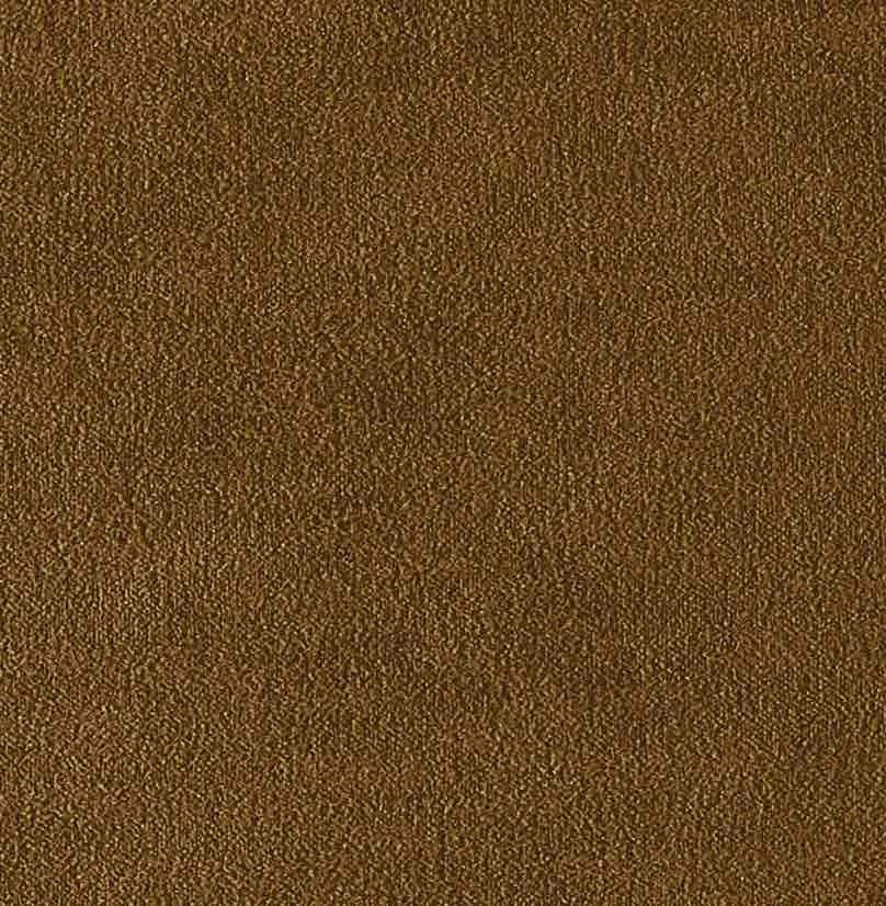 Coussin Aristote velours - finition sergé brodé contrasté- Pain brulé- 40x55cm