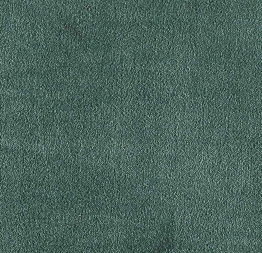 COUSSIN EN VELOURS ARISTOTE - finition sergé brodé contrasté - Curaçao - 40x55CM