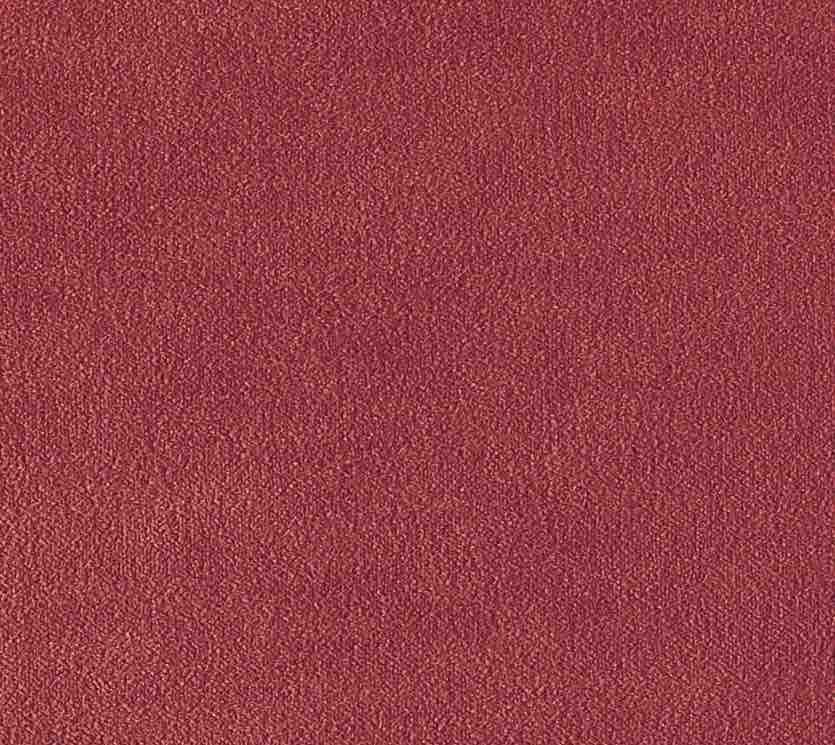 Coussin Aristote velours - finition sergé brodé contrasté- Terracotta- 40x55cm