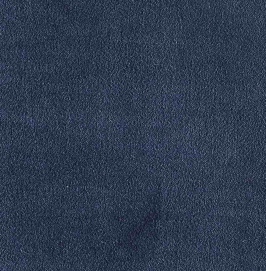 COUSSIN EN VELOURS ARISTOTE - finition sergé brodé contrasté - Pétrole - 40x55CM
