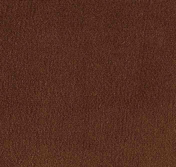 COUSSIN VELOURS EURYDICE ELITIS pain brulé- 50x70 cm