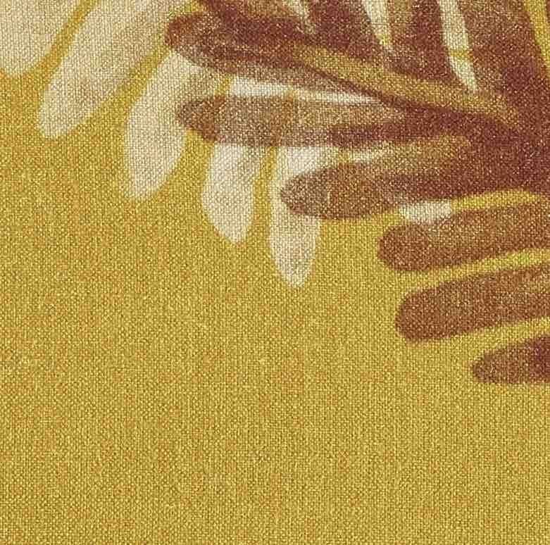 Coussin en lin Palma - 50x70cm - jaune