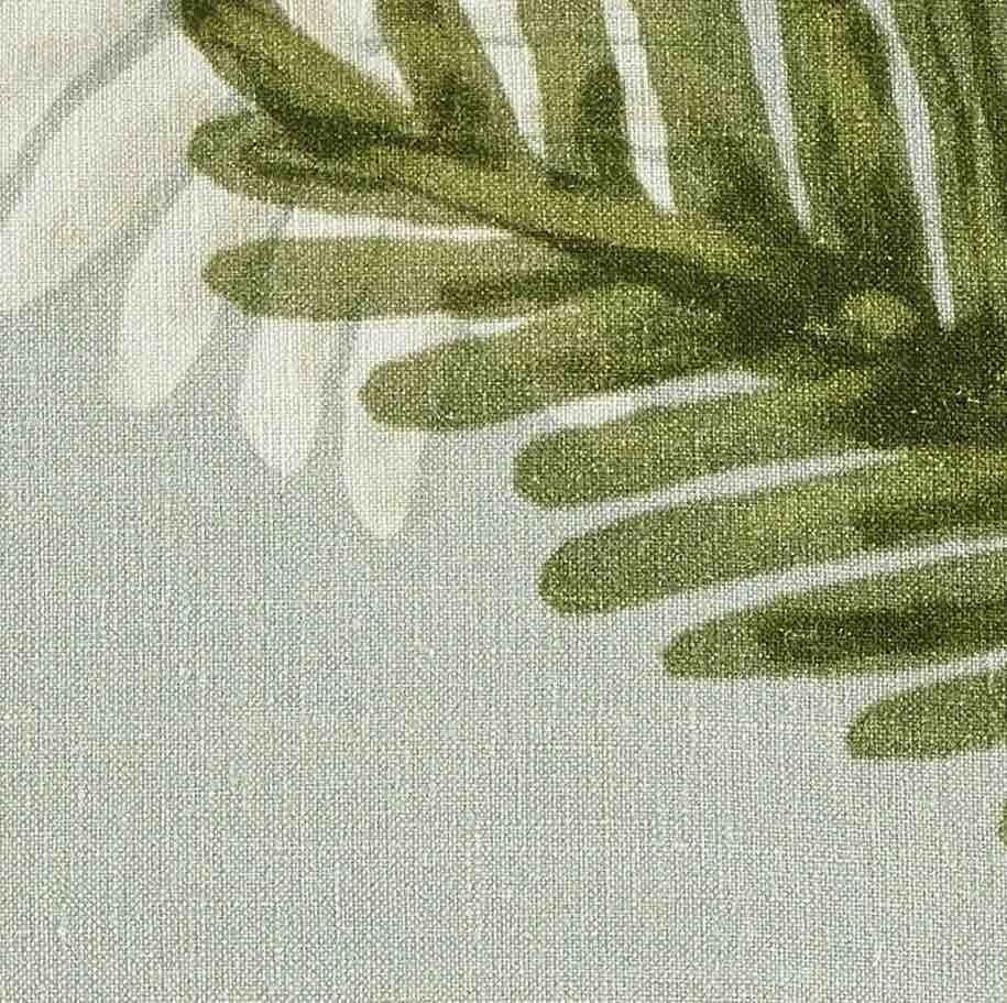 Coussin en lin Palma - 50x70cm - fresh blue