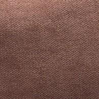 Coussin Vice Versa-biais noir-velours chenille- bois de rose