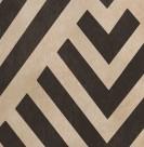 PLATEAU ROND EN BOIS - 48cm x 4cm - MOTIF CHEVRON