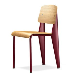 Chaise Standard - Japanese red