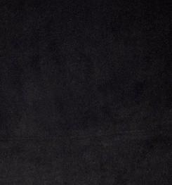 COUSSIN EN VELOURS DE COTON EURYDICE ELITIS NOIR ABSOLU-50x70 cm