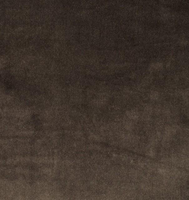 COUSSIN EN VELOURS DE COTON EURYDICE ELITIS GOUDRON-50x70cm