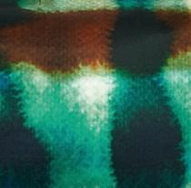 COUSSIN EN SOIE BLEU LAGON ELITIS BALIBAR- 30x45 cm