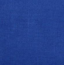 COUSSIN EN LIN SAMA - BLEU PROFOND - 40x55CM