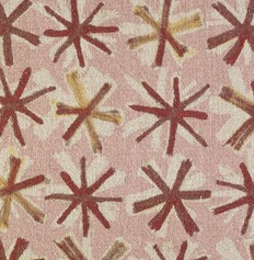 COUSSIN EN LIN SPICE - ROSE - 50x50CM